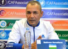 Баҳром Норсафаров: Футболчиларимиз бўлажак мусобақага тайёр