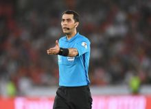 Равшан Ирматов обслужит матч Китай – Таджикистан
