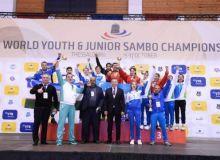 Uzbekistan national sambo team has set a historic result at the World Championship