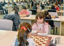 В Ташкенте проходит чемпионат Узбекистана по шашкам-64