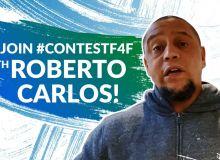 Роберто Карлос дарит футболки с автографом за любовь к футболу – конкурс Международной детской социальной программы «Футбол для дружбы»