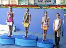 Сабина Ташкенбаева на пьдестале почета и другие результаты чемпионата Узбекистана по художественной гимнастике