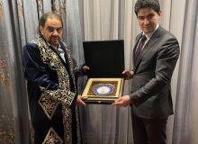Азизжон Камилов в Бишкеке встретился с президентом федерации дзюдо Азии