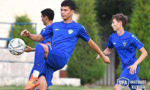 Молодёжная сборная Узбекистана в заключительном контрольном матче одержала победу над «Локомотивом U-21»