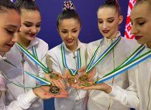 Триумф сборной Узбекистана по художественной гимнастике