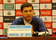 Шухрат Мақсудов: Шогирдларим бироз хотиржамликка берилди