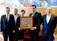Жасур Матчанов провел переговоры с коллегой