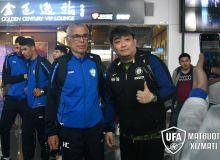 Национальная сборная Узбекистана прибыла в Китай для участия в турнире «China Cup-2019»
