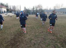 Женская олимпийская сборная на УТС в Ташкенте.