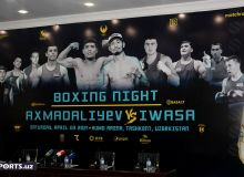 Will fans be allowed in fight night where 9 Uzbek boxers will takes place?