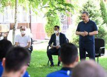Руководство АФУ встретилось с представителями национальной сборной Узбекистана
