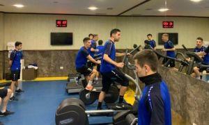 Национальная сборная Узбекистана по футзалу проводит зарубежный сбор