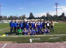 Женская национальная сборная Узбекистана одержала победу над Непалом