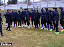 Photo Gallery. Uzbekistan U22 continue participations actively in training sessions