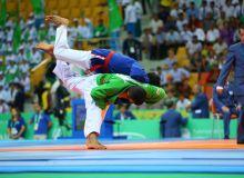 На ЧА по курашу наши спортсмены завоевали 10 золотых медалей