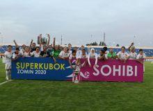 Женский футбол: «Бунёдкор-W» - двукратная обладатель Суперкубка Узбекистана!