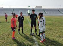 Женская первая лига завершила первый этап первенства Узбекистана.