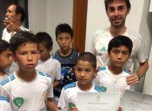 Real Madrid Foundation Clinic дастурининг илк ҳафтаси ниҳоясига етди