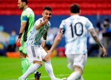 Америка кубоги. Аргентина финалда Бразилияга қарши ўйнайди
