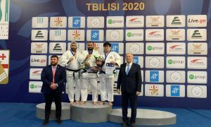 Uzbek para judokas finish IBSA Blind Judo World Cup Tbilisi with seven medals