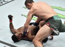Маҳмуд Мурадовнинг UFCдаги илк рақиби Хоакин Баклини нокаутга учратди (Видео)