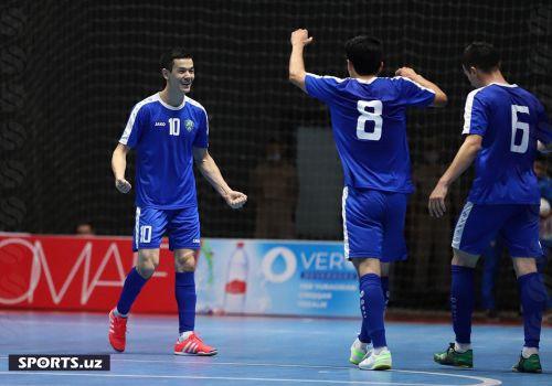 Сборная Узбекистана по футзалу забила 6 мячей команде Косово