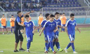Молодёжная сборная Узбекистана сыграла вничью в Андижане с командой Германии