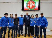 Борцы вольного стиля завоевали в Минске 4 медали