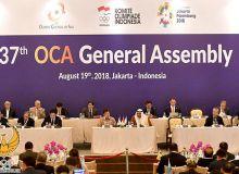 В Джакарте состоялась Генеральная ассамблея Олимпийского Совета Азии