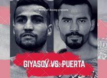 Shakhram Giyasov of Uzbekistan to square off against Mexican veteran Edgar Puerta in Mexico