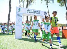 В Ташкенте прошёл второй этап чемпионата АФУ среди девочек до 14 лет