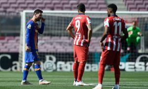 """""""Барселона"""" - """"Атлетико"""" учрашувида """"Реал"""" учун қониқарли ҳисоб қайд этилди!"""