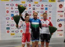 Ольга Забелинская завоевала золотую медаль в омниуме