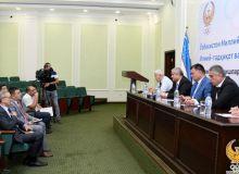 В НОК прошла пресс-конференция посвященная деятельности научно-методического центра