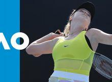 Украинанинг энг чиройли теннисчиси ғалаба қозонди