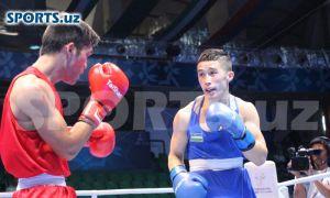 Elnur Abduraimov beats Algerian Reda Benbaziz to face American Keyshawn Davis
