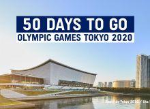 До старта Токио-2020 осталось 50 дней!