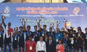 6th Asian Beach Games rescheduled to April 2021