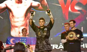 Uzbekistan's Khusniddin Pulatov to square off to defend his WBA Asia Super Welterweight Title