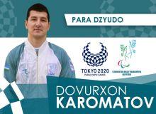 Давурхон Кароматов завоевал серебро Паралимпиады в Токио