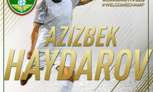 Transfer News. Aziz Haydarov completes a move to FC Lokomotiv from FC Bunyodkor