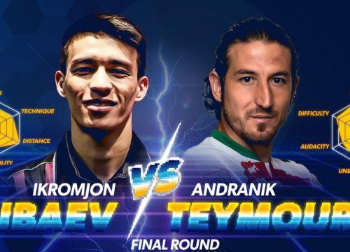 Andranik Teymourian wins Ikromjon Alibaev for the best-ever