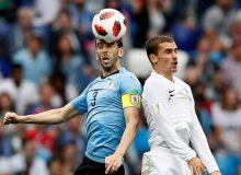 Уругвай - Франция учрашуви видеошарҳи