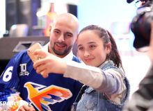 Photo Gallery. Humo players and their fans