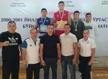 В чемпионате Узбекистана по боксу среди молодежи команда Андижанской области признана лучшей