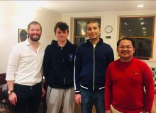 Djurabek Khamrakulov crowned at the Marshall IM Norm Round Robin Fall 2019 Chess Tournament