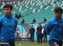 Ibrahim Tomiwa secures a three-point bag for FC Bunyodkor
