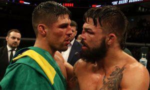 UFC жангчиси ресторанда жанжал чиқарди (Видео)
