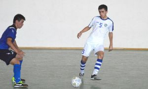 Uzbekistan national futsal team beat Kyrgyzstan's EREM club with a 6-5 win in Tashkent