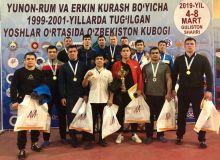 Команда Хорезма выиграла Кубок Узбекистана по спортивной борьбе